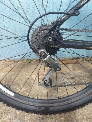 Bike aro 26 quadro de alumínio. - Foto 6