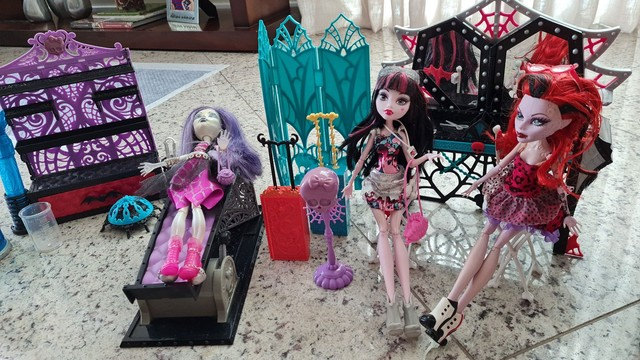 Kit monster high bonecas - Foto 2