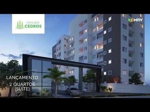Vista dos Cedros Apt. 2 qts Com Varanda e Elevador no Planalto !