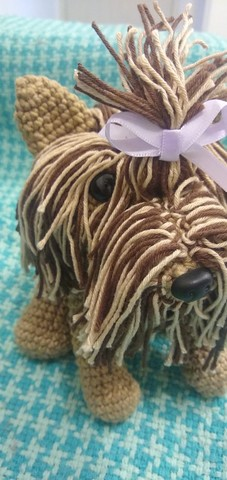 Cachorrinha Yorkshire Pronta entrega Dia das Mães  - Foto 3