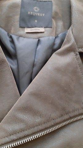 Jaqueta couro e camurça tam G Nova  - Foto 6