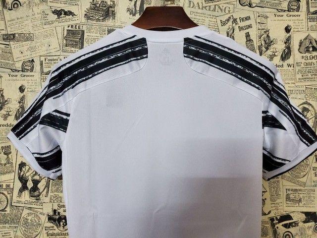 Camisa Juventus Uniforme I Temporada 2020 2021 - Foto 5