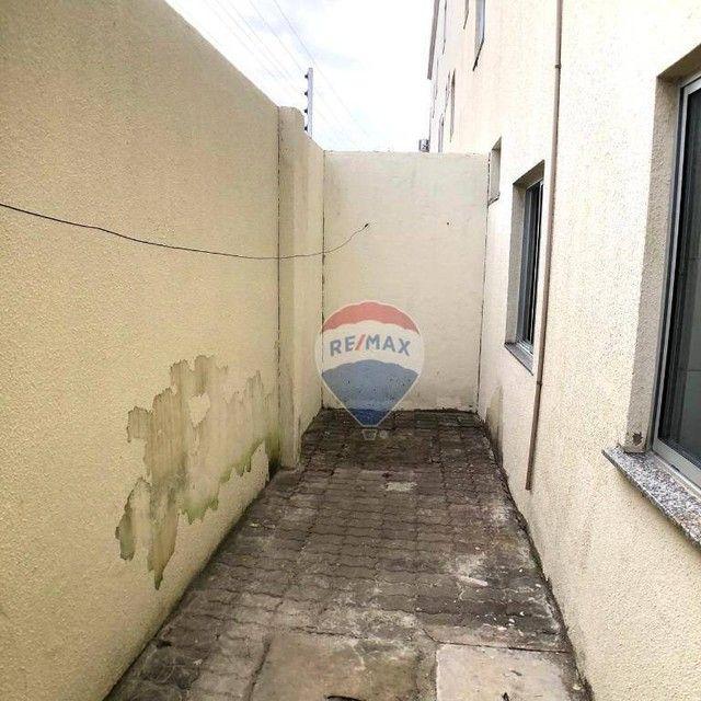 Apartamento com 2 dormitórios para alugar, 53 m² por R$ 790,00/mês - Edson Queiroz - Forta - Foto 10