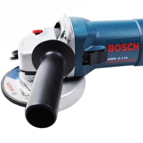Esmerilhadeira Angular Bosch Industrial 4.1/2 1820 Gws 8-115