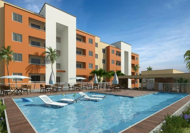 Lançamento Apartamento no Capuan em Caucaia Opala Residence,2 Qtos,Piscina,Lazer Completo