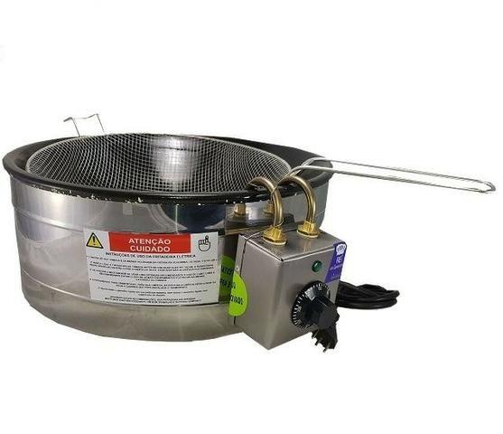 Fritadeira elétrica 3,5 L com Termostato Nova c/ Garantia - Foto 3