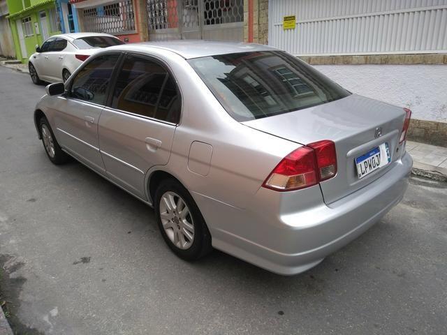 Honda Civic 2005 Lx 1.7 Completo, Vistoriado 2018, Placa Nova, Recibo Aberto