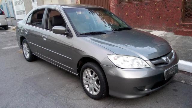 Honda Civic LX 1.7   Automático Com Couro