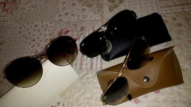 Óculos Ray Ban e Ana Hickmann originais - Bijouterias, relógios e ... 92419b6e5a