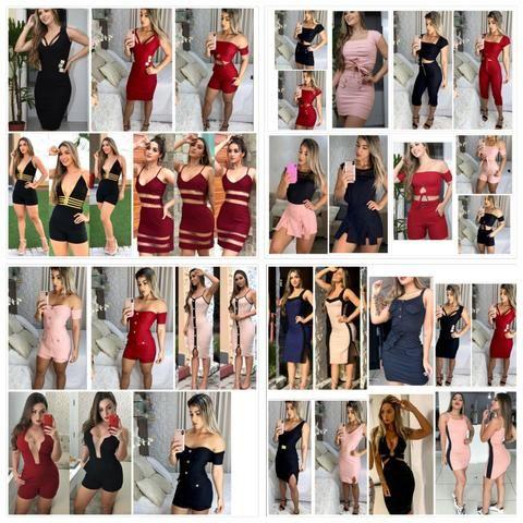 7ed930f1a Kits roupas femininas atacado promoção zerar estoque - Roupas e ...