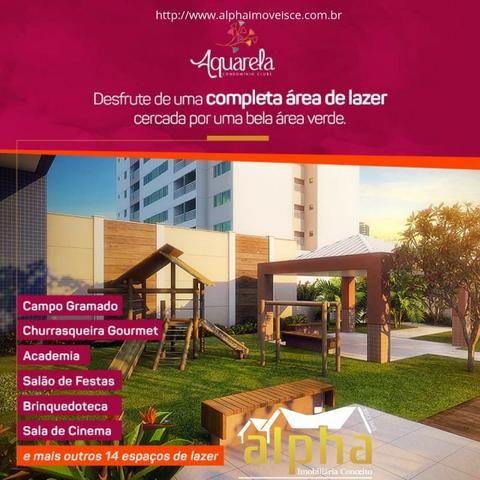 Apartamento no Benfica Alto Padrão - Aquarela 2 Quartos - Entrada Facilitada - Foto 3