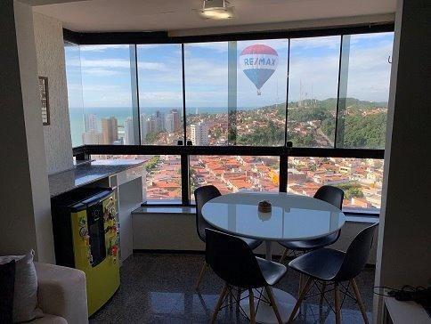 Apartamento Ocean View - Petrópolis com 75m2 com 2 quarto (1s) e 2 VG - Foto 6