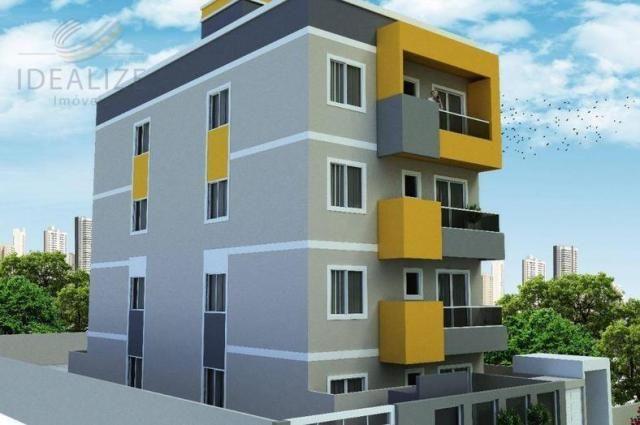 Apartamento à venda com 2 dormitórios em Cruzeiro, São josé dos pinhais cod:1927620 - Foto 4