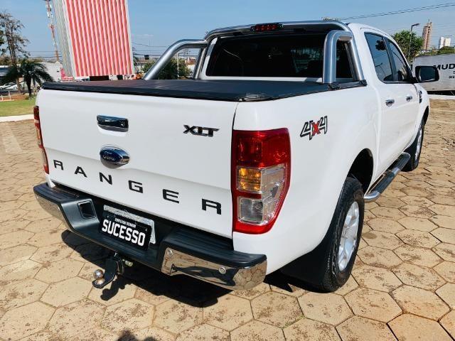 Ford / Ranger Xlt 3.2 Turbo Diesel (200 Cv) 4x4 Completa - Único Dono - Foto 3