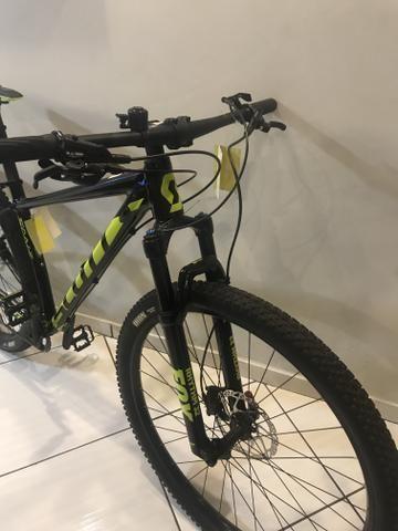 Vendo bicicleta novíssima sem uso Scott Scale 950 - Foto 5