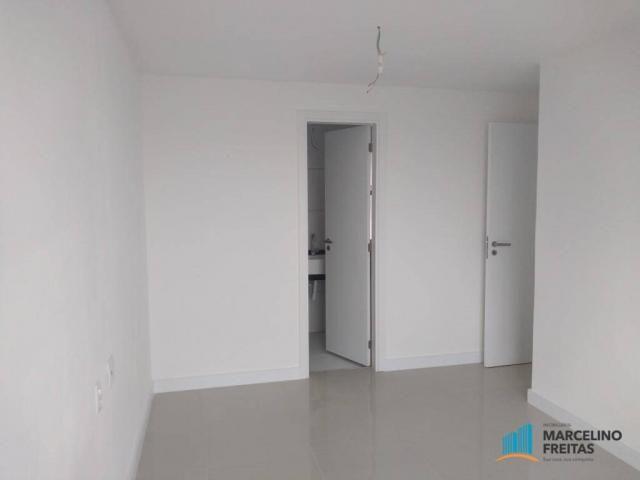 Apartamento com 3 dormitórios para alugar, 110 m² por r$ 2.079,00/mês - salinas - fortalez - Foto 12