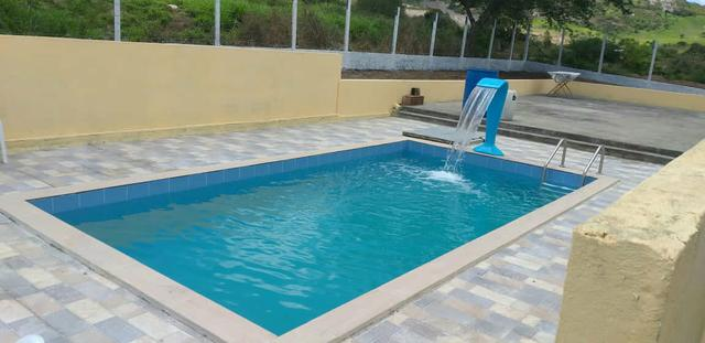 Chácara com piscina - Foto 2