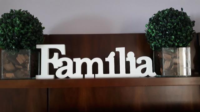 Palavra Família em MDF - Foto 2