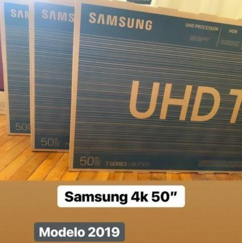 Smart tv 4k samsung 50 / garantia /novas