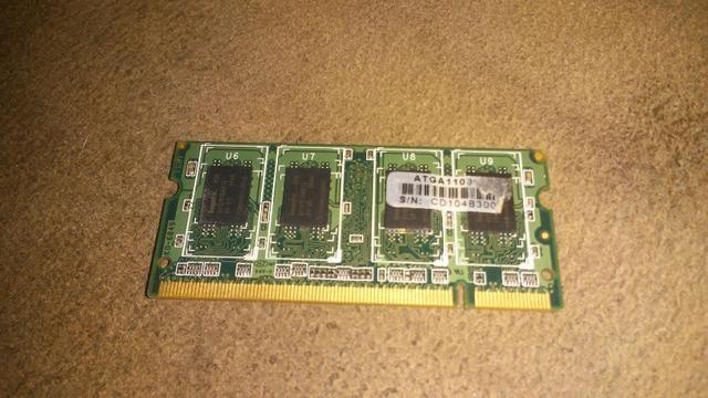 1Gb MEMÓRIA RAM ddr3 NOTBOOK