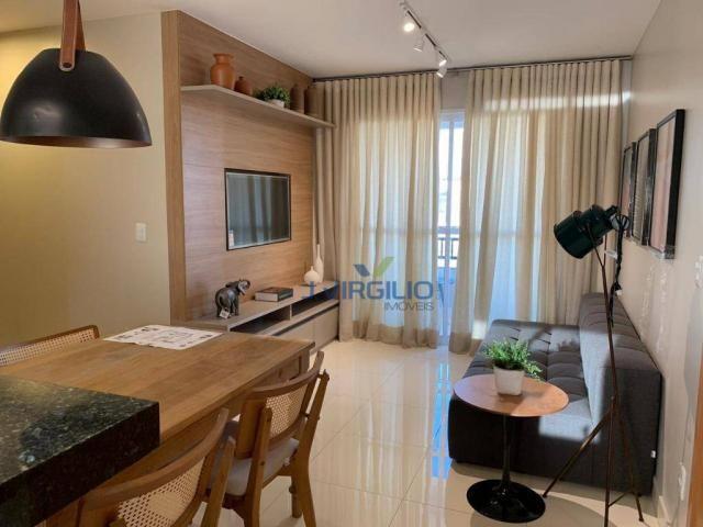 Apartamento com 2 quartos à venda, 67 m² por r$ 191.500 - vila rosa - goiânia/go