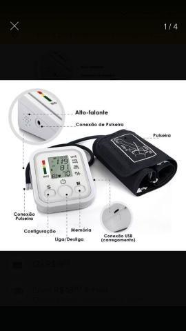 Aparelho Medidor De Pressão Arterial Digital Automático Braço Lançamento - Foto 2
