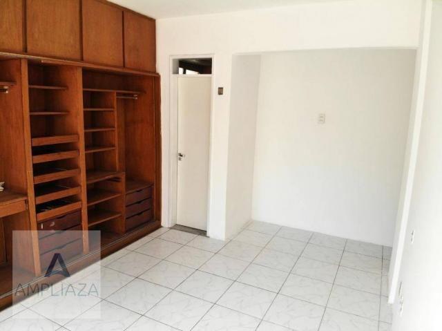 Apartamento com 3 dormitórios para alugar, 238 m² por r$ 2.200/mês - aldeota - fortaleza/c - Foto 13