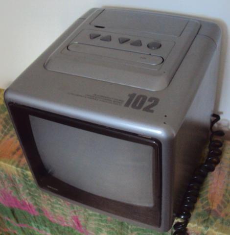 "TV 10"" Polegadas Semp Toshiba Modelo 102 Portátil Televisão Televisor - Foto 4"