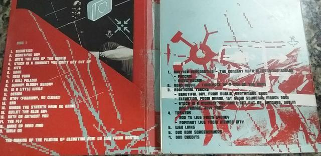 DVD duplo U2 - Foto 3