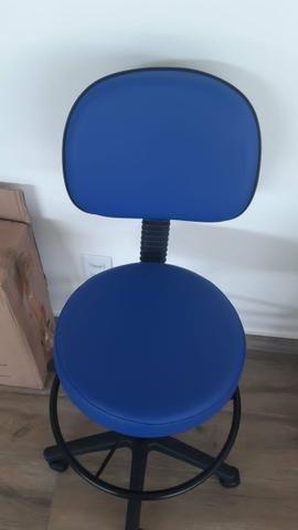 Cadeira giratória tipo mocho - Foto 3
