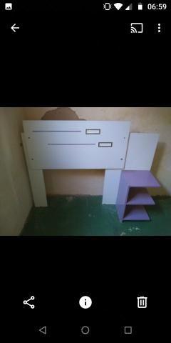 Cabeceira de cama box solteiro motivo mudança de tenho que entregar a casa hj - Foto 5