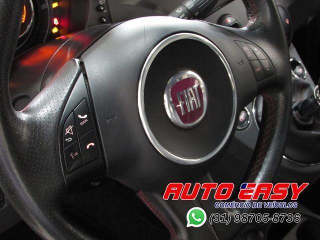 Fiat 500 Sport Air 1.4 C/ Couro! - Foto 13