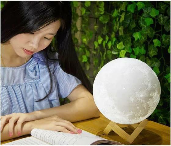 Luminária de Lua 3D - Foto 3