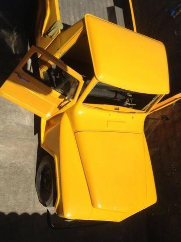 Ford F 75 Amarela - Foto 3