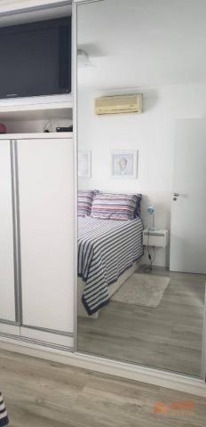 Apartamento quadra mar na Barra Sul, 2 dormitórios sendo 1 suíte, opção para 3º dormitório - Foto 12