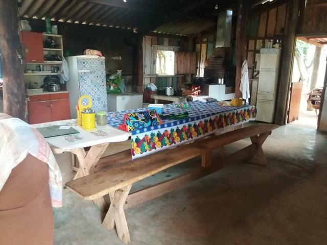Vendo chácara de 7 hectares com 2 casas 1 cozinha caipira com fogão de lenha - Foto 6
