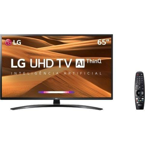 "Smart TV Led 65"" LG 65UM7470 Ultra HD 4K com Conversor Digital 4hdmi Wi-Fi - Foto 3"