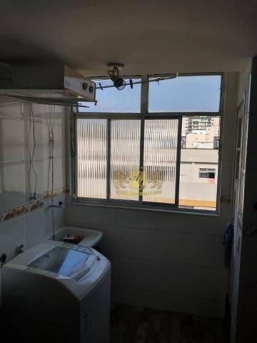 Cobertura com 3 dormitórios para alugar, 110 m² por R$ 3.000,00/mês - Icaraí - Niterói/RJ - Foto 13