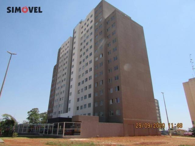 Apartamento com 1 dormitório para alugar, 32 m² por R$ 700/mês - Ceilândia Norte - Ceilând