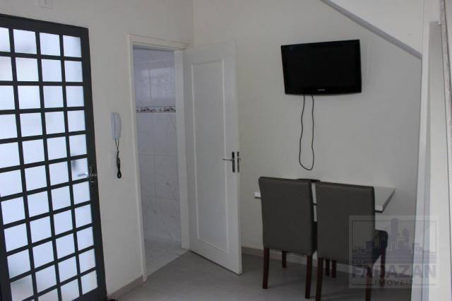 Studio com 1 dormitório para alugar, 38 m² por R$ 1.400,00/mês - São Francisco - Curitiba/ - Foto 5