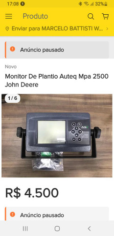 Monitor Plantio Autec 2500 - Foto 2