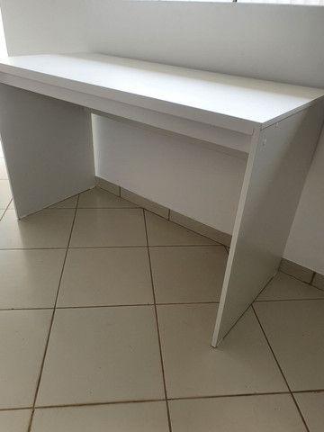 Vendo mesa branca NOVA  - Foto 2