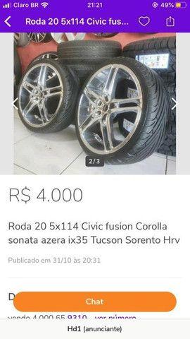 Roda 20 pneu 20  - Foto 2