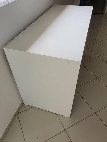 Vendo mesa branca NOVA  - Foto 3
