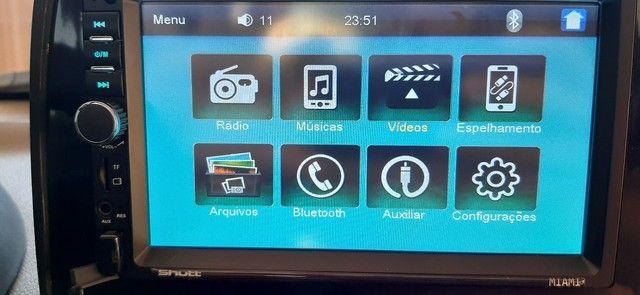 Central Multimídia MP5 Player Automotivo Casty Tech by Shutt Miami 2 Din Tela 7 Polegadas - Foto 4