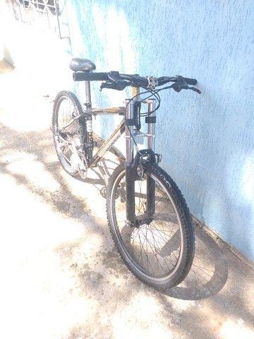 Bike aro 26 quadro de alumínio. - Foto 3