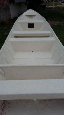 Barco batera bote lancha de fibra  - Foto 13