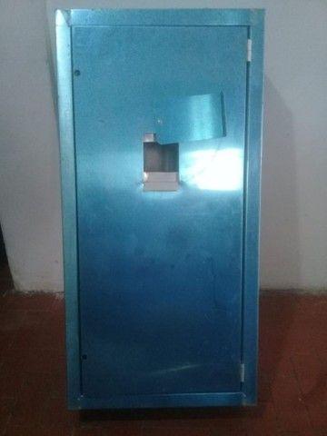 01 caixa de barramento  de aluminio 80 x 40 R$220,00