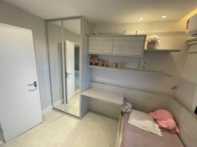 Colina A, apartamento 3/4,suíte,finamente decorado,vista mar,2 vagas - Foto 14