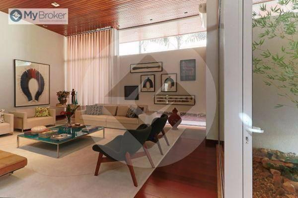 Casa com 4 dormitórios à venda, 576 m² por R$ 5.200.000,00 - Residencial Alphaville - Goiâ - Foto 3